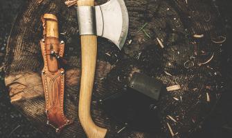 Ako na výrobu koženého puzdra na nôž. Videonávod v článku
