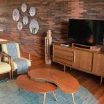 11 inšpirácii ako a kam umiestniť televíziu v obývačke